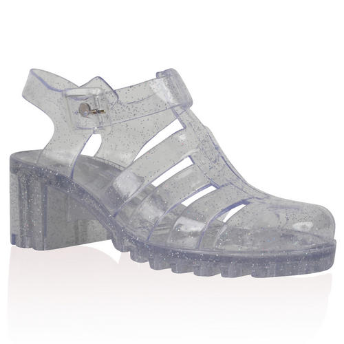 Melissa Jelly Shoes. Melissa clear jelly shoe. By Tanya Sharma