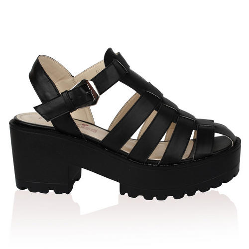 damen plateau blockabsatz profilsohle sandalen sommer frauen schuhe gr e 36 41 ebay. Black Bedroom Furniture Sets. Home Design Ideas