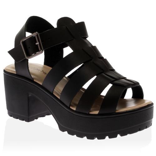 chaussure sandale plateforme. Black Bedroom Furniture Sets. Home Design Ideas