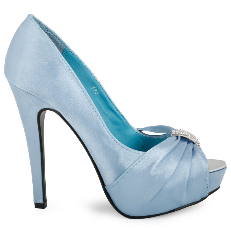 the gallery for gt light blue wedding heels