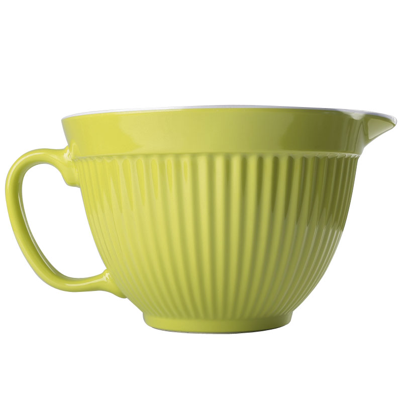 New Zeal Kitchen Lime Melamine Mixing Bowl Jug With Spout