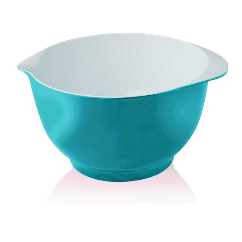 NEW ZEAL KITCHEN AQUA BLUE MELAMINE SPOUTED BAKING FOOD ...