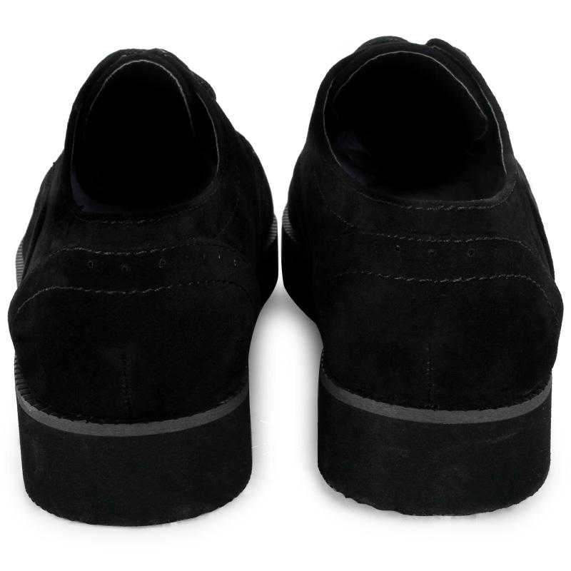 35C Flat Creepers Shoes Women Faux Suede Lace Up Platform Size 5 6 7 8