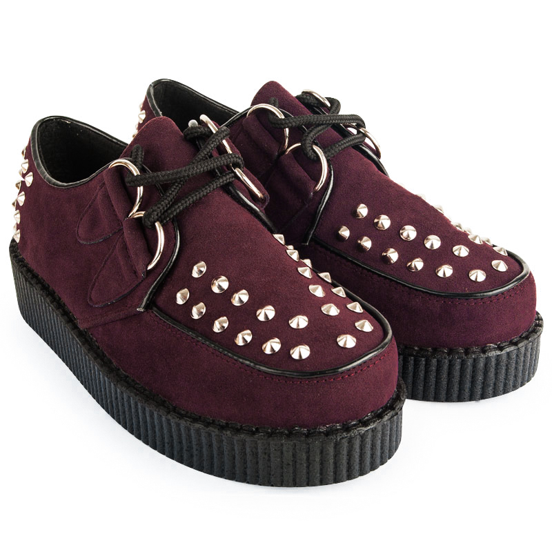 Womens creepers, cheap brothel creepers, punk shoes, goth boots and more. Mr Shoes UK online shoe shop!