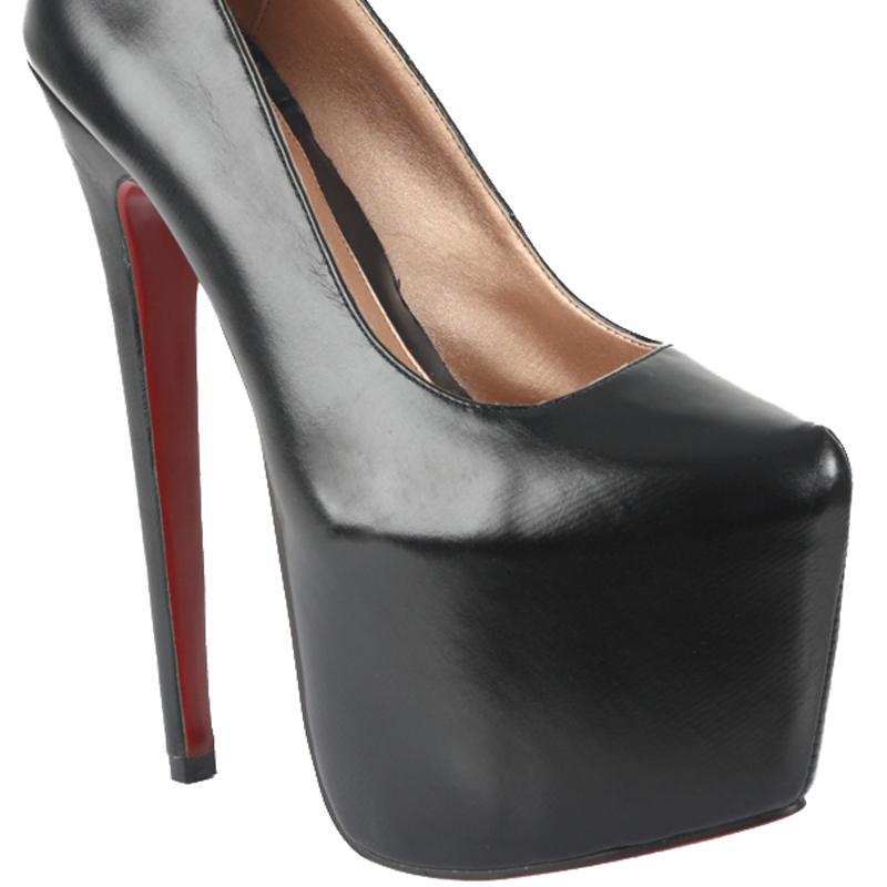 womens sole high platform black sole 7 inch