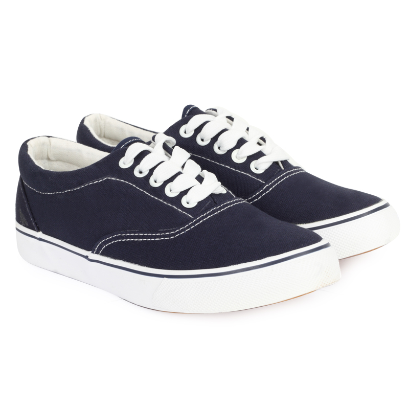 lace up plimsolls womens navy blue casual trainers