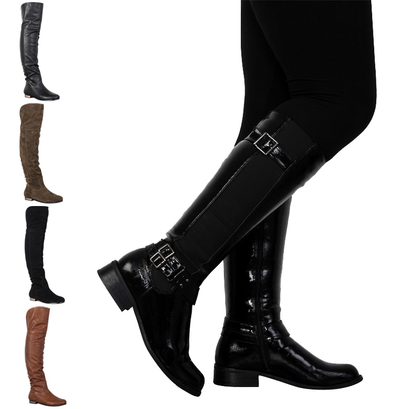 Knee High Zip Up Boots - Gommap Blog