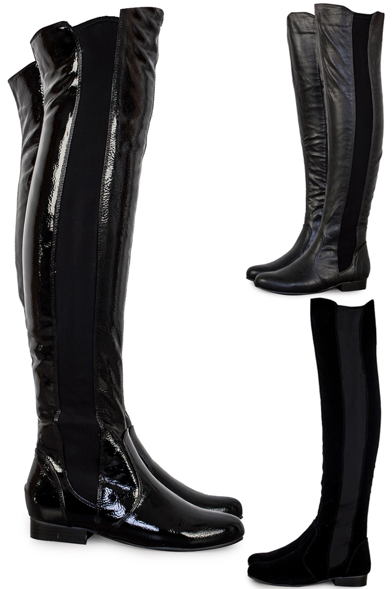 Over The Knee Boots Uk - Yu Boots