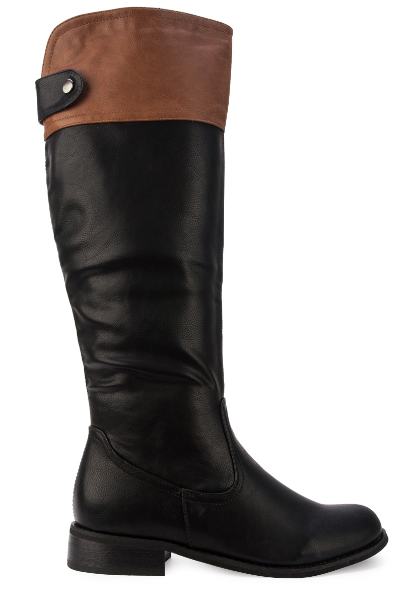 NEW WOMENS BLACK TAN BROWN CASUAL KNEE HIGH LADIES LONG RIDING ...