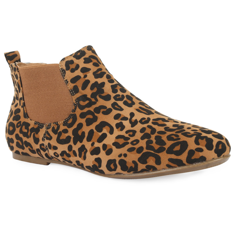 Ladies Leopard Print Shoes Uk
