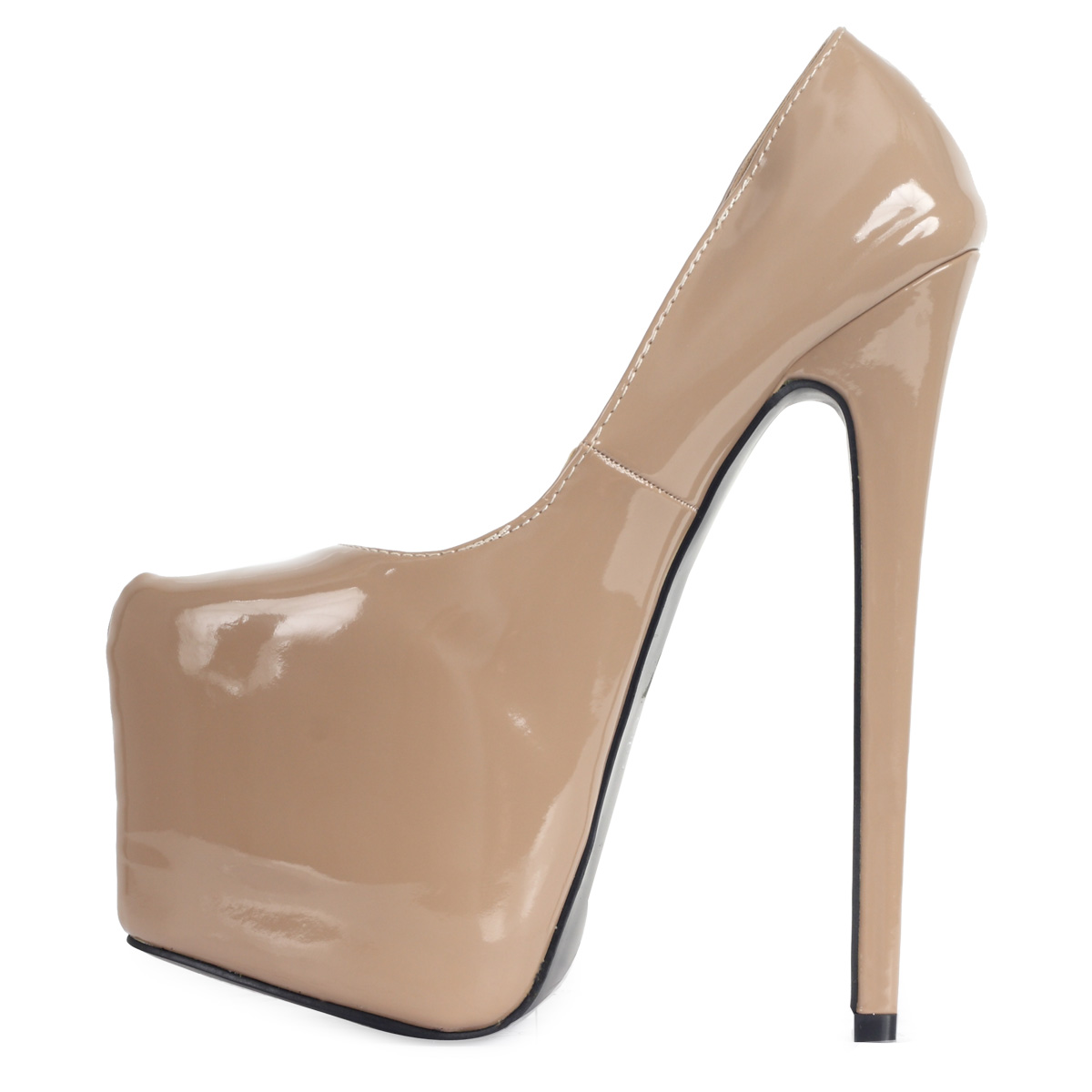 5 Inch Nude Heels