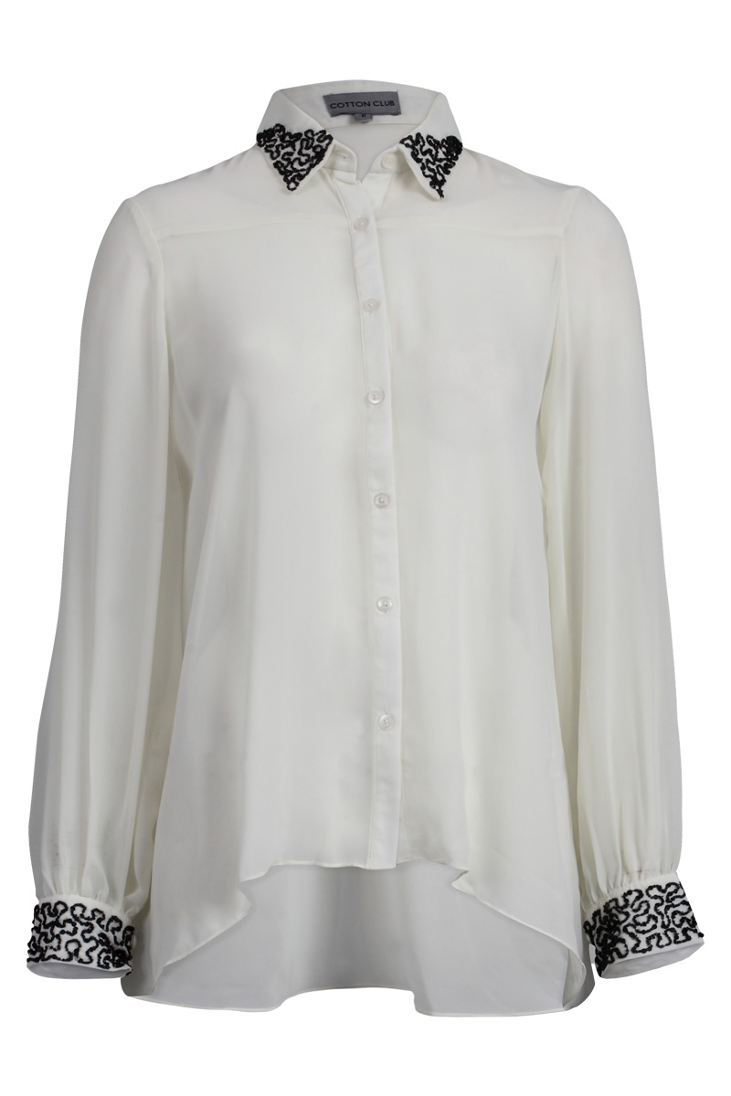 Womens Cream Shirt | Is Shirt