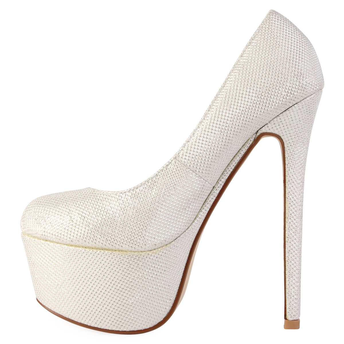 Extended Size Bridal Shoes