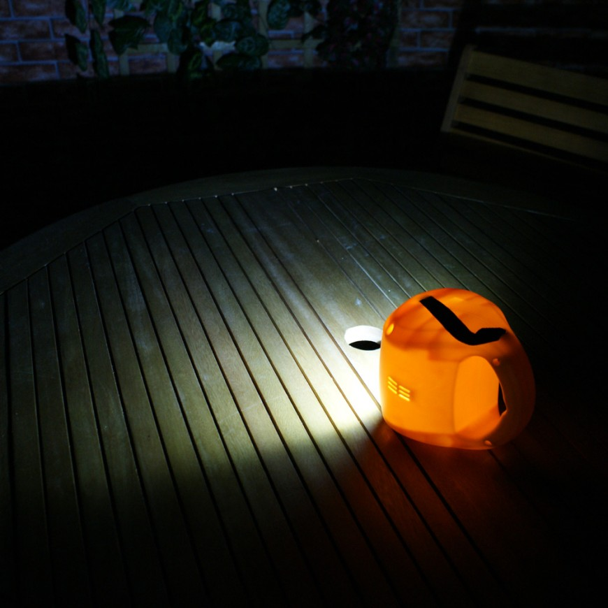 Yellow Camping Lantern & Phone Charger   Unique Home Living