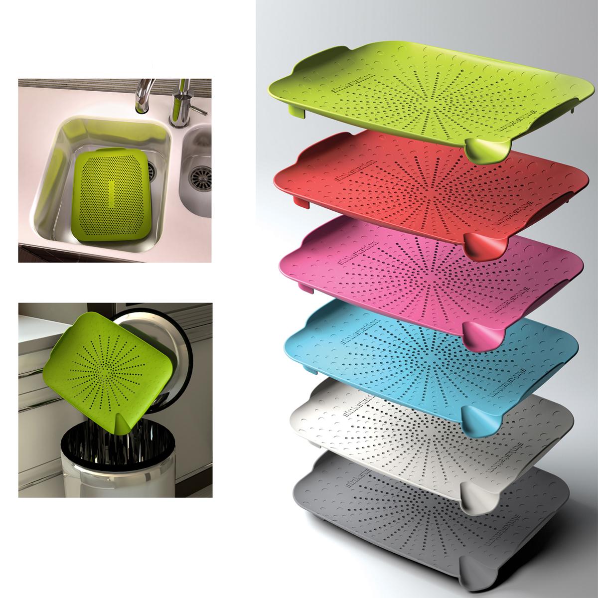 neu heim sinkstation flach sieb k che sp le filter essen f nger ebay. Black Bedroom Furniture Sets. Home Design Ideas