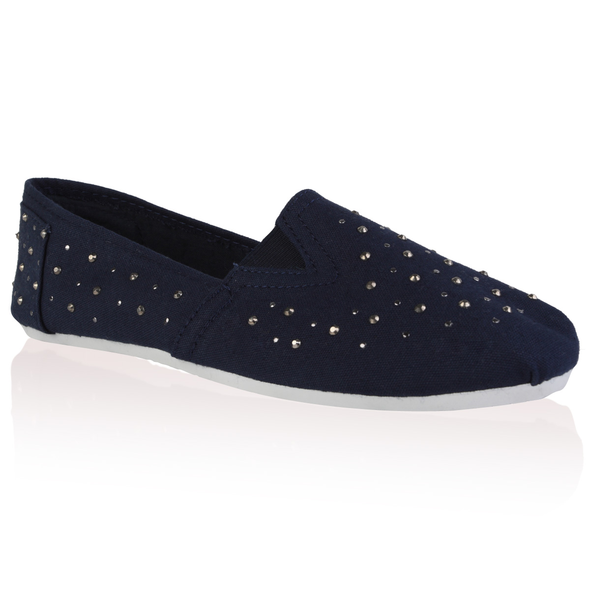Free shipping BOTH ways on womens navy blue flats, from our vast selection of styles. Fast delivery, and 24/7/ real-person service with a smile. Click or call