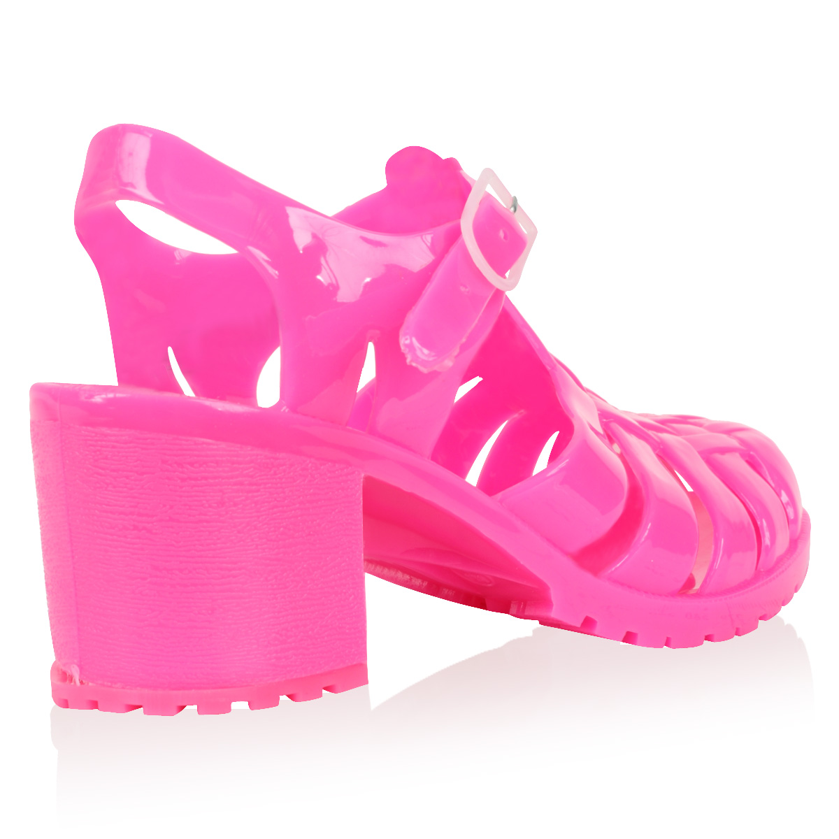 Pink Jelly Heels
