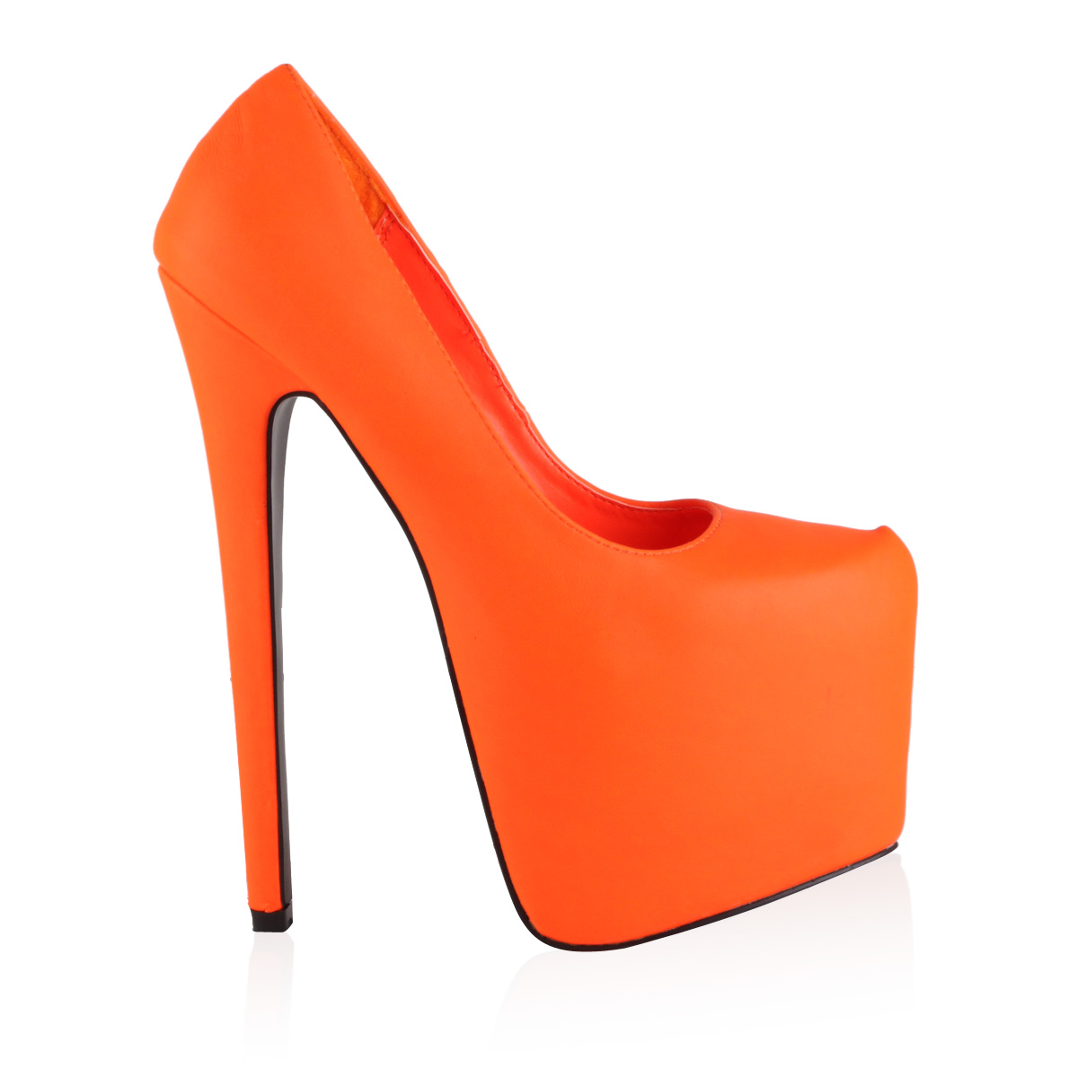 40E WOMENS CONCEALED PLATFORM LADIES 7 INCH STILETTO HEEL COURT ...
