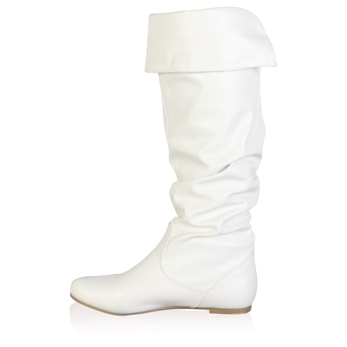 womens new slouchy knee high winter flat