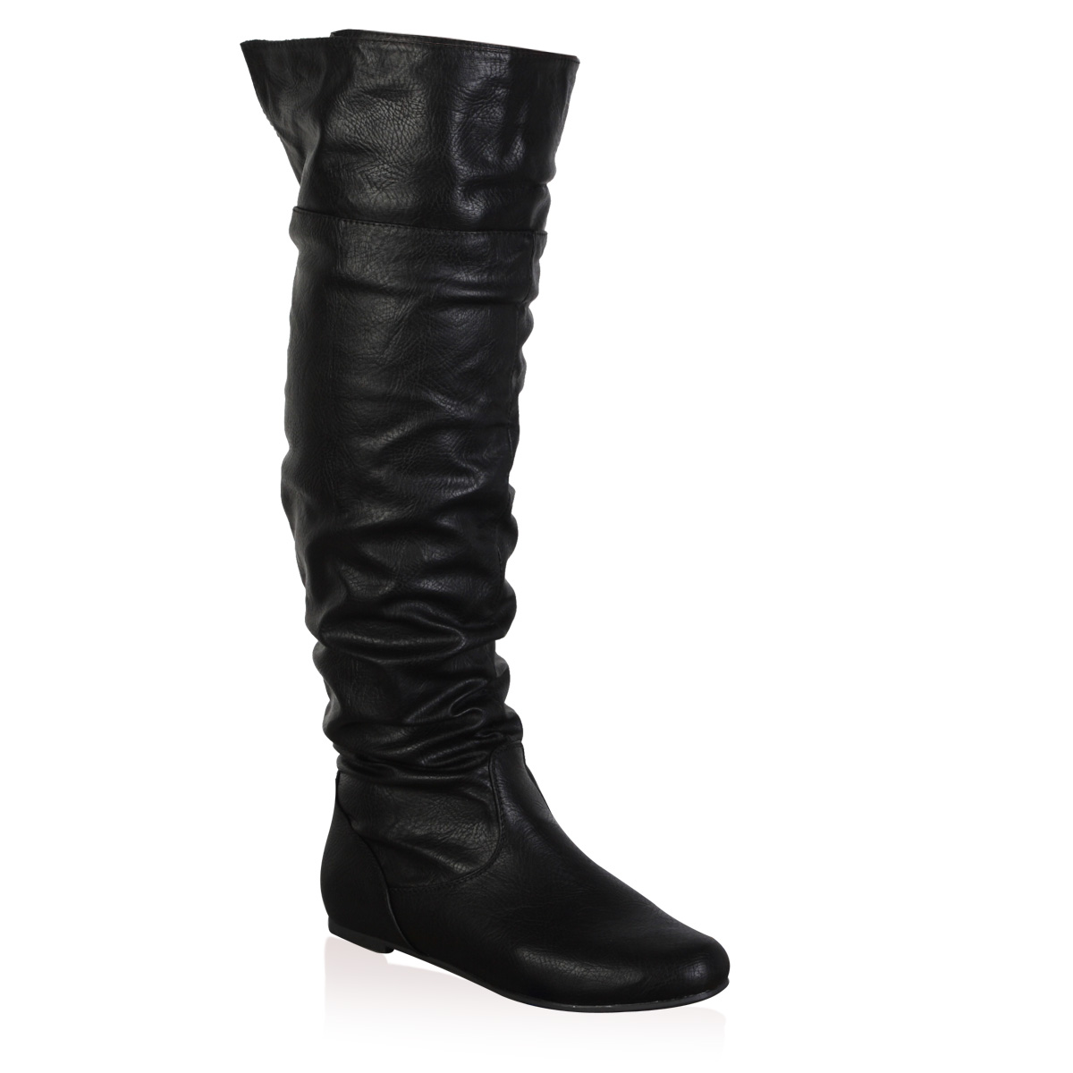 new slouch womens flat knee high