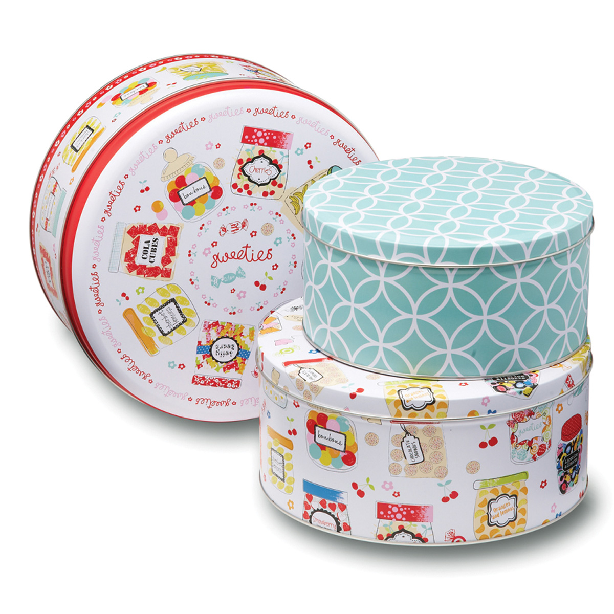 new cooksmart kitchen 3 pack sweet treats round baking. Black Bedroom Furniture Sets. Home Design Ideas