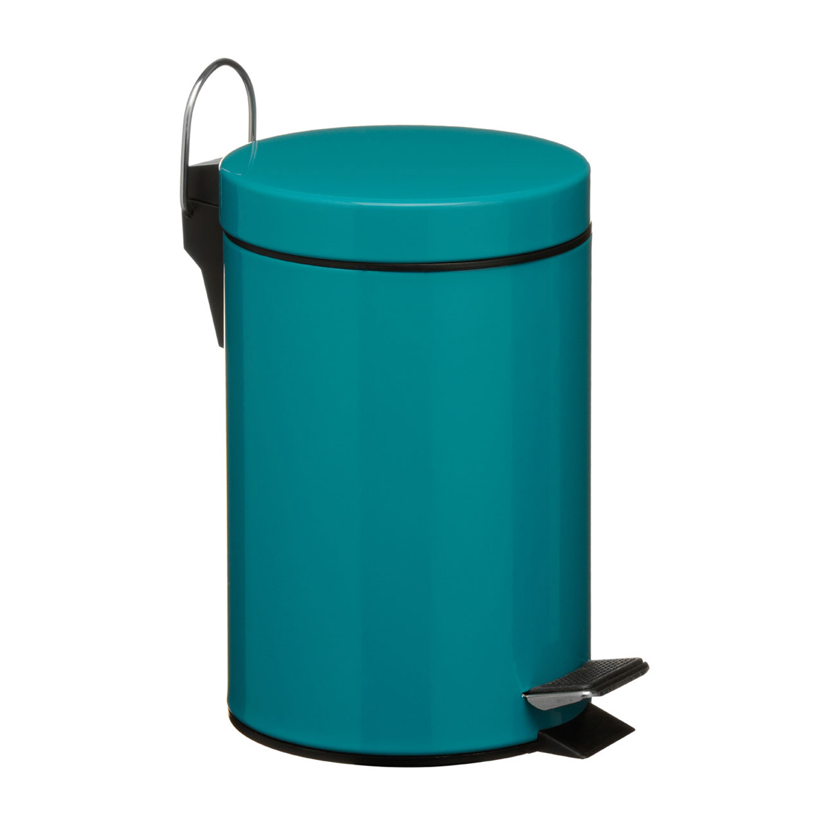 teal bathroom pedal bin unique home living