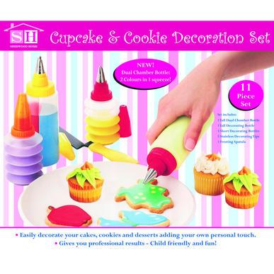 Cupcake & Cookie Decoration Set