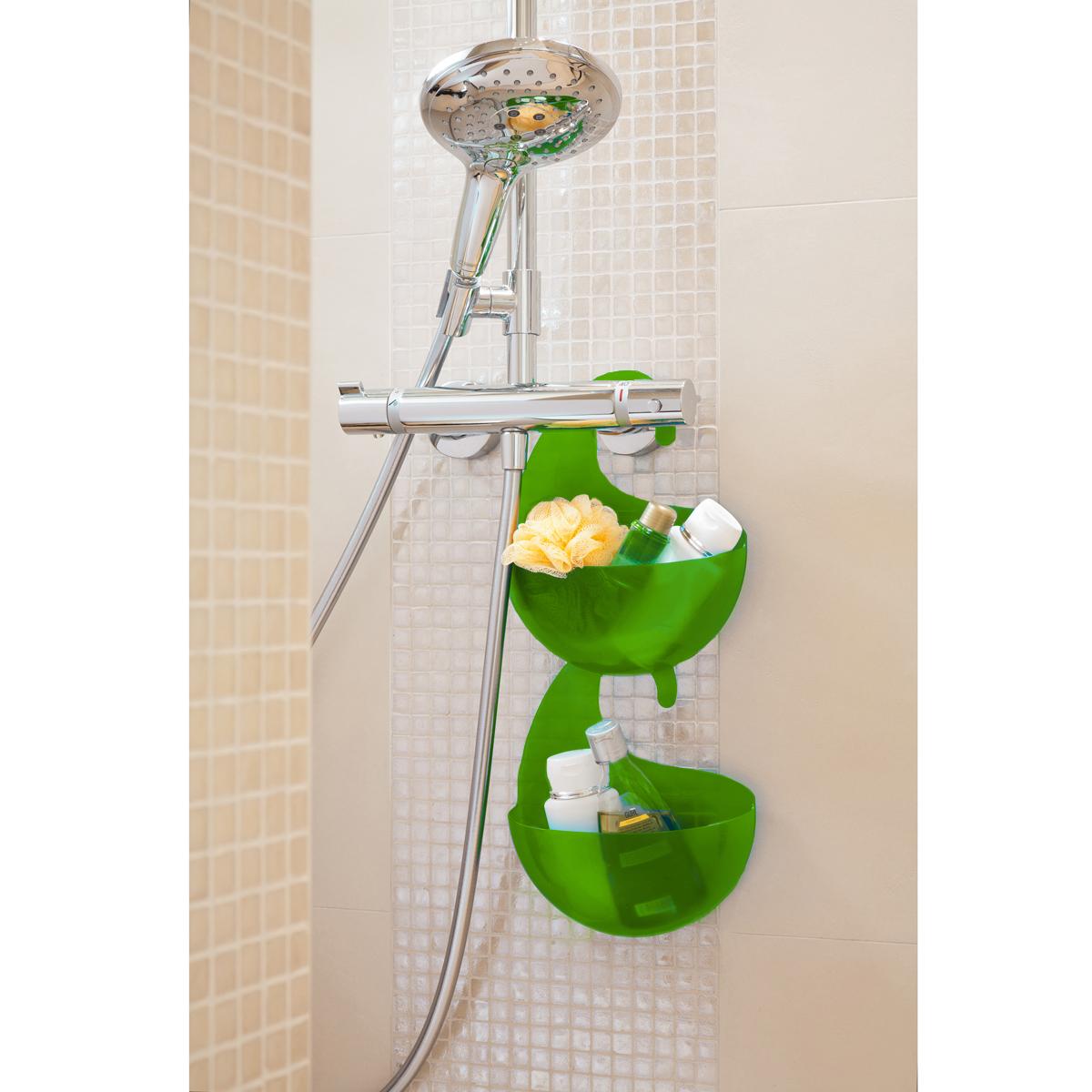 Lime Green Bathroom Storage