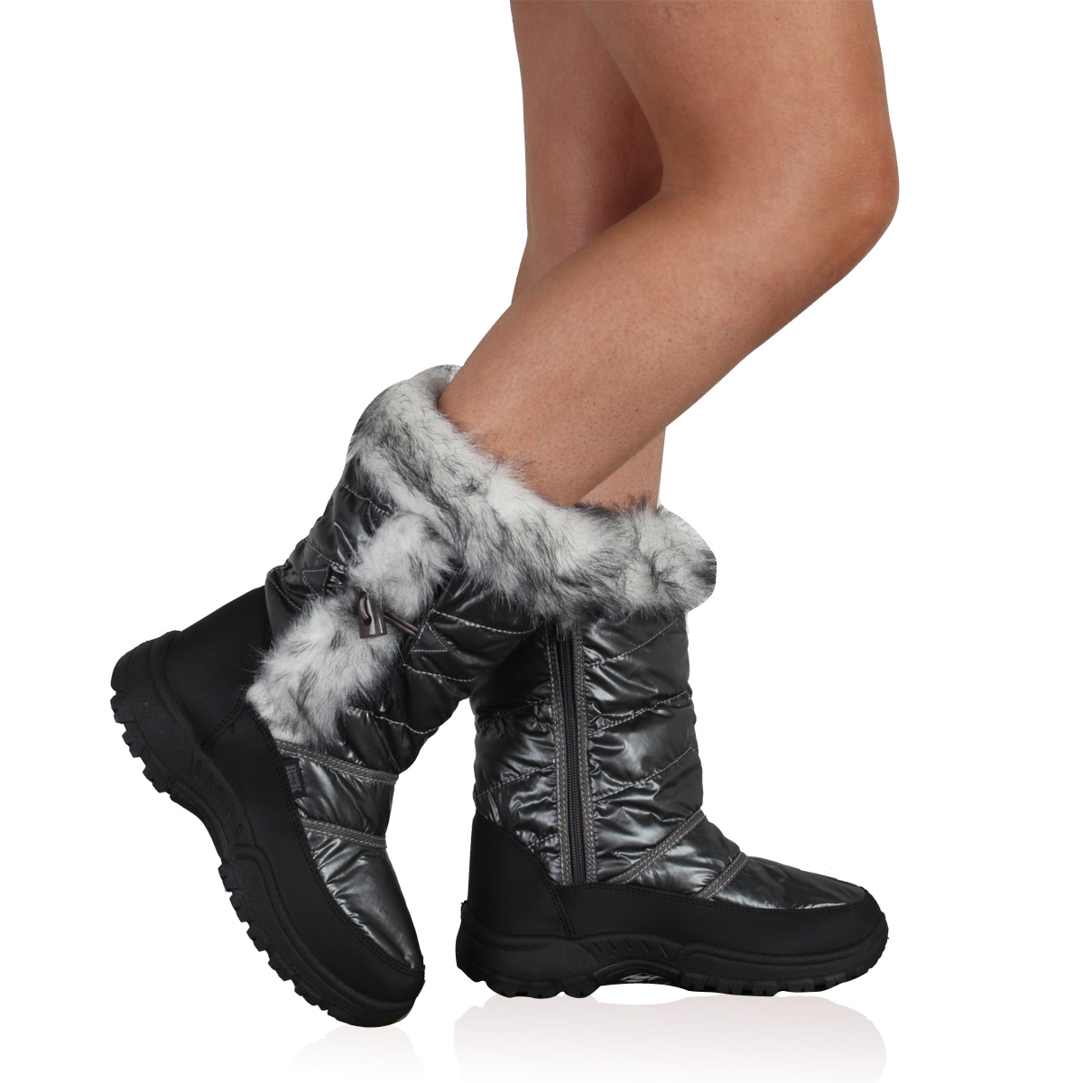 Womens Snow Boots With Grips