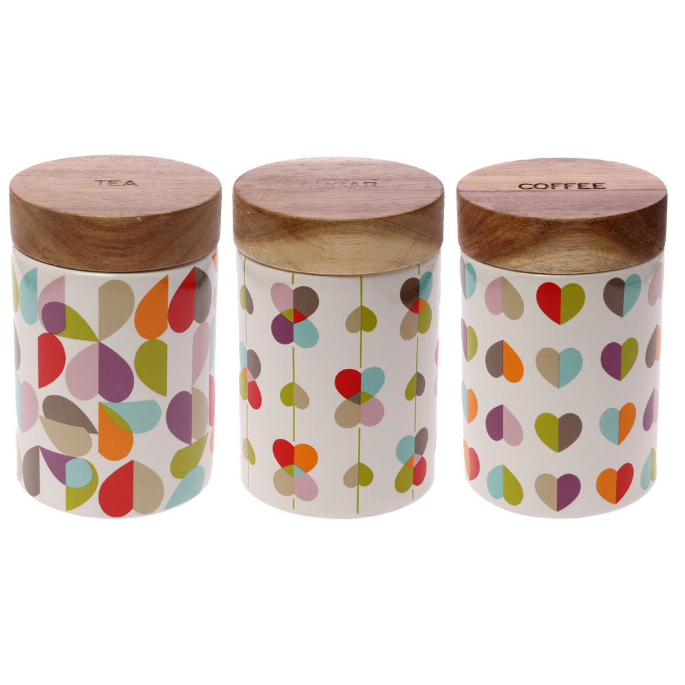 Beau Amp Elliot Brokenhearted Tea Storage Jar Wooden Lid