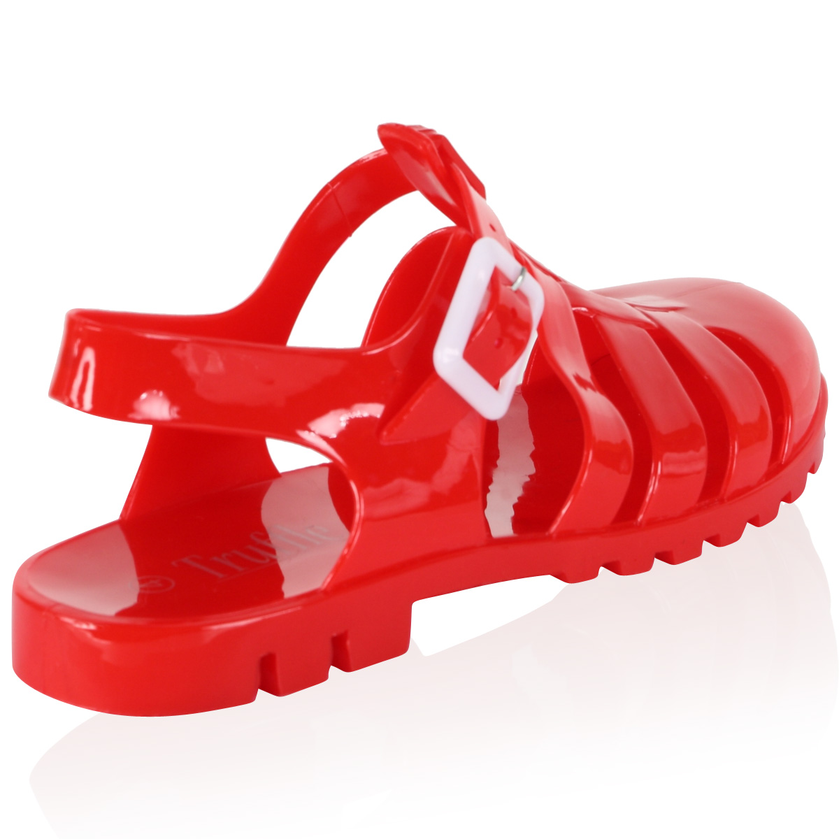Women's jelly sandals size 10 - New Womens Ladies Retro Holiday Beach Comfy Jelly Gum Shoes Sandals Size 5 10