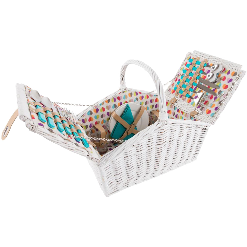 4 Person Picnic Basket Uk : Beau elliot person picnic basket unique home living