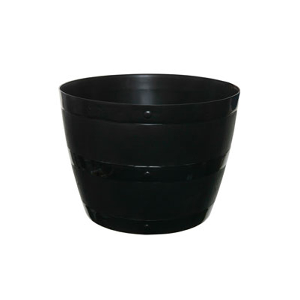 how to clean black plastic planters