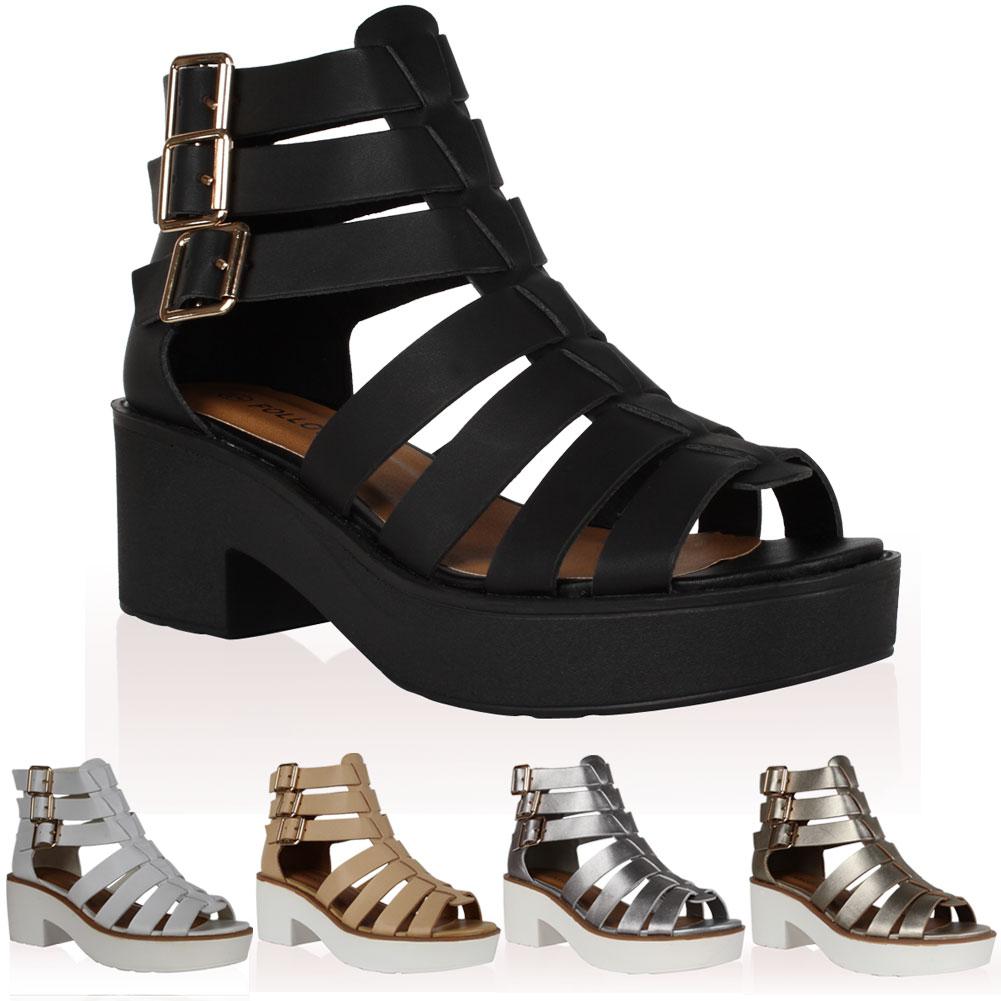Gladiator Booties Heels