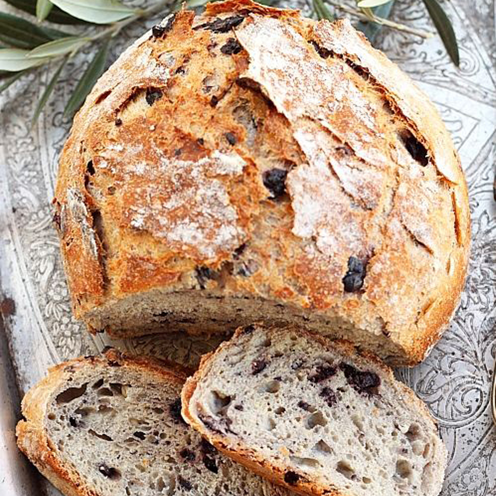 Rustic Recipe: Olive Bread