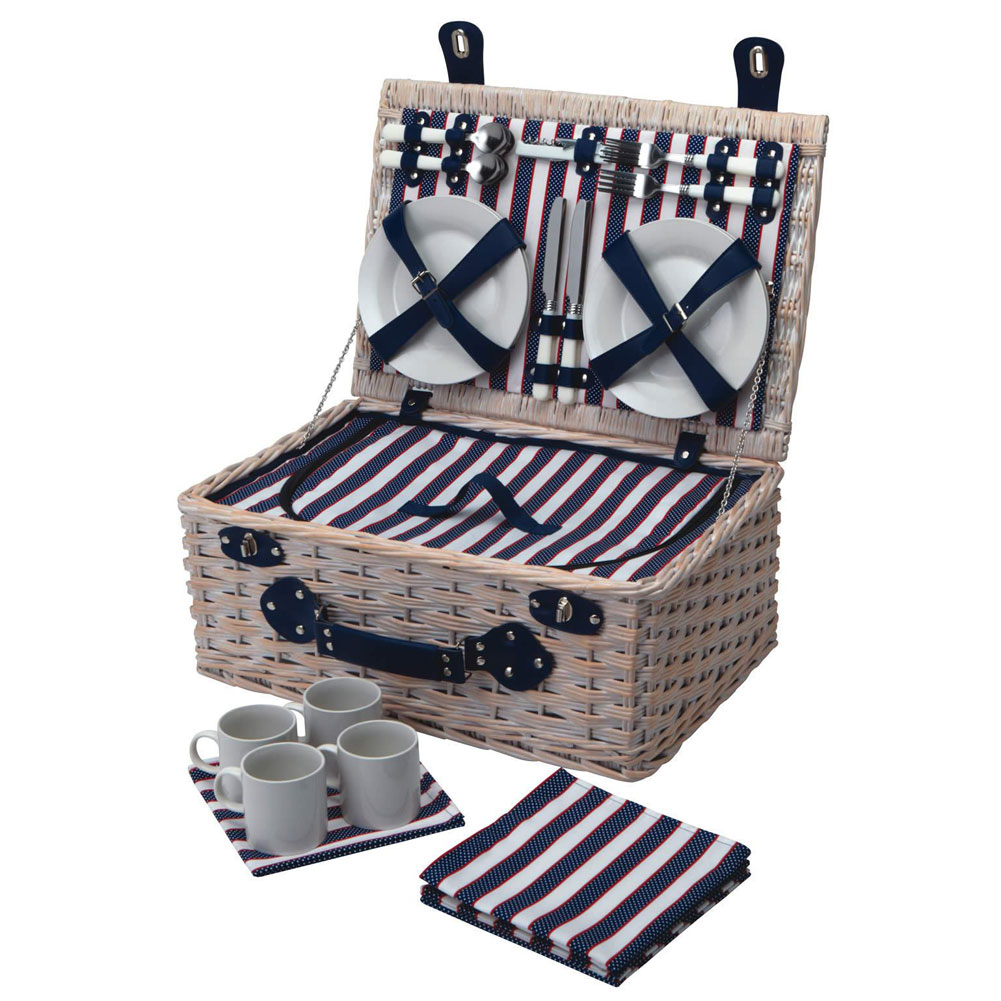 4 Person Picnic Basket Uk : Person lighthouse picnic basket unique home living