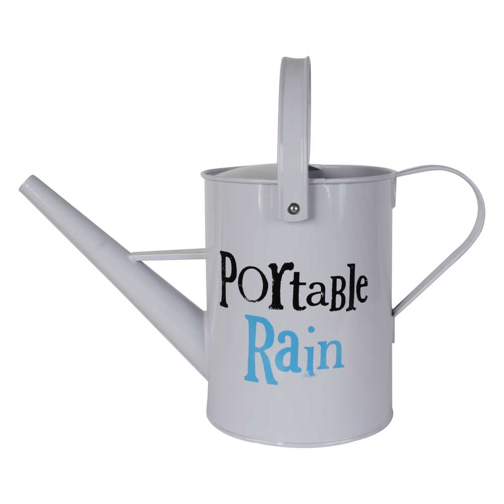 Portable rain watering can unique home living - Unusual watering cans ...