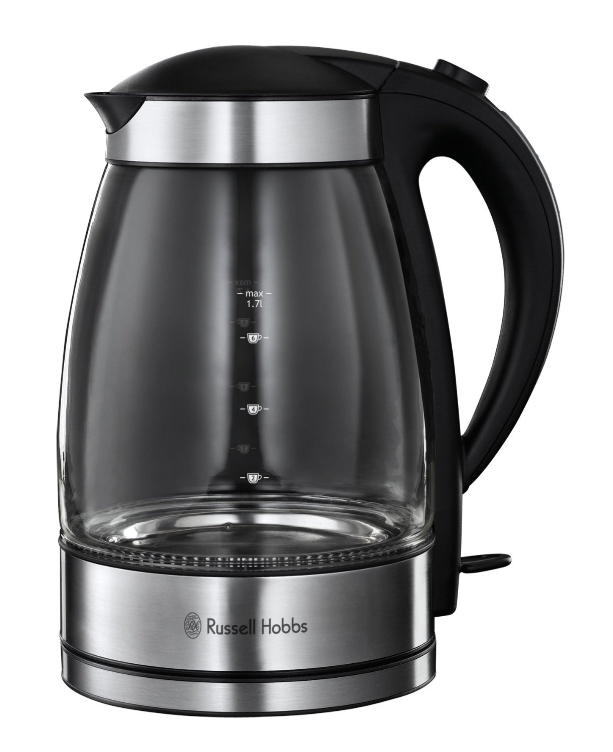 Asda Coffee Maker Instructions : Russell Hobbs 15082 Illuminating Glass Kettle Unique Home Living