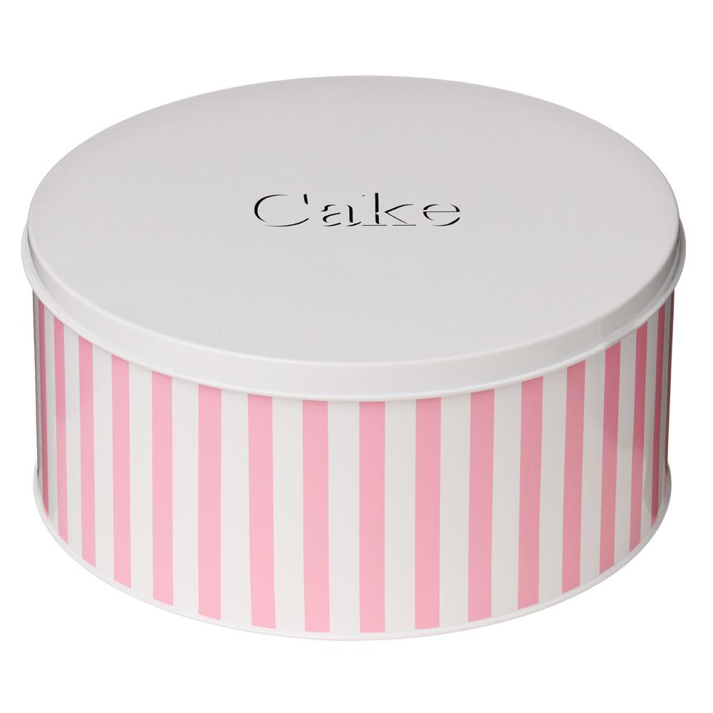Boite rangement ronde rose id e inspirante pour la conception de la maison - Boite a gateau gifi ...