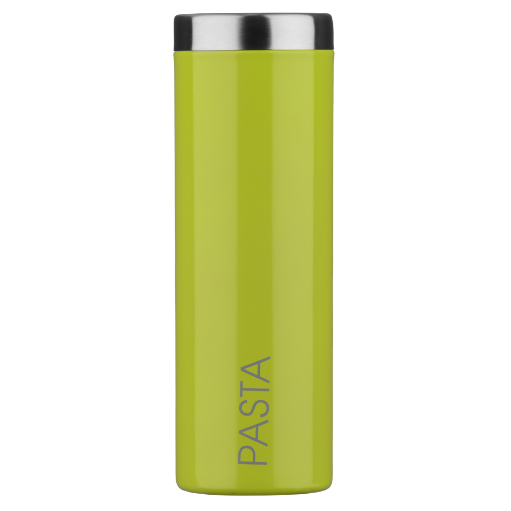 Housewares Kitchen Storage Glossy Lime Green Tall Pasta Canister
