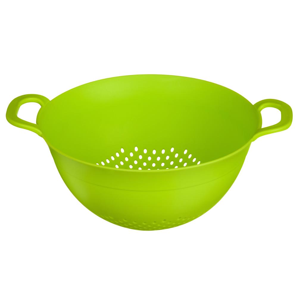 Green colander