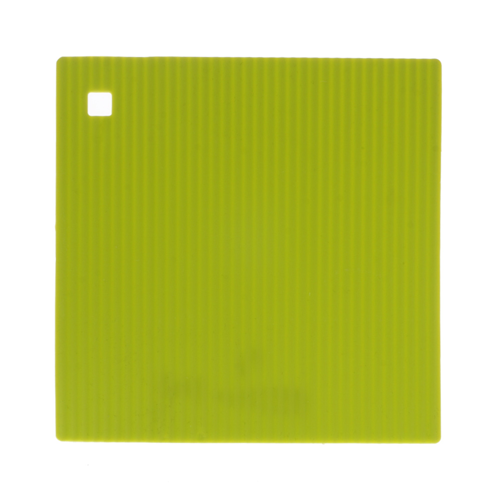 Lime Green Large Silicone Hot Mat Unique Home Living