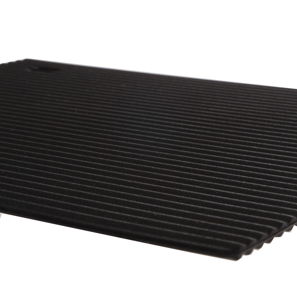 Black Small Silicone Hot Mat Unique Home Living