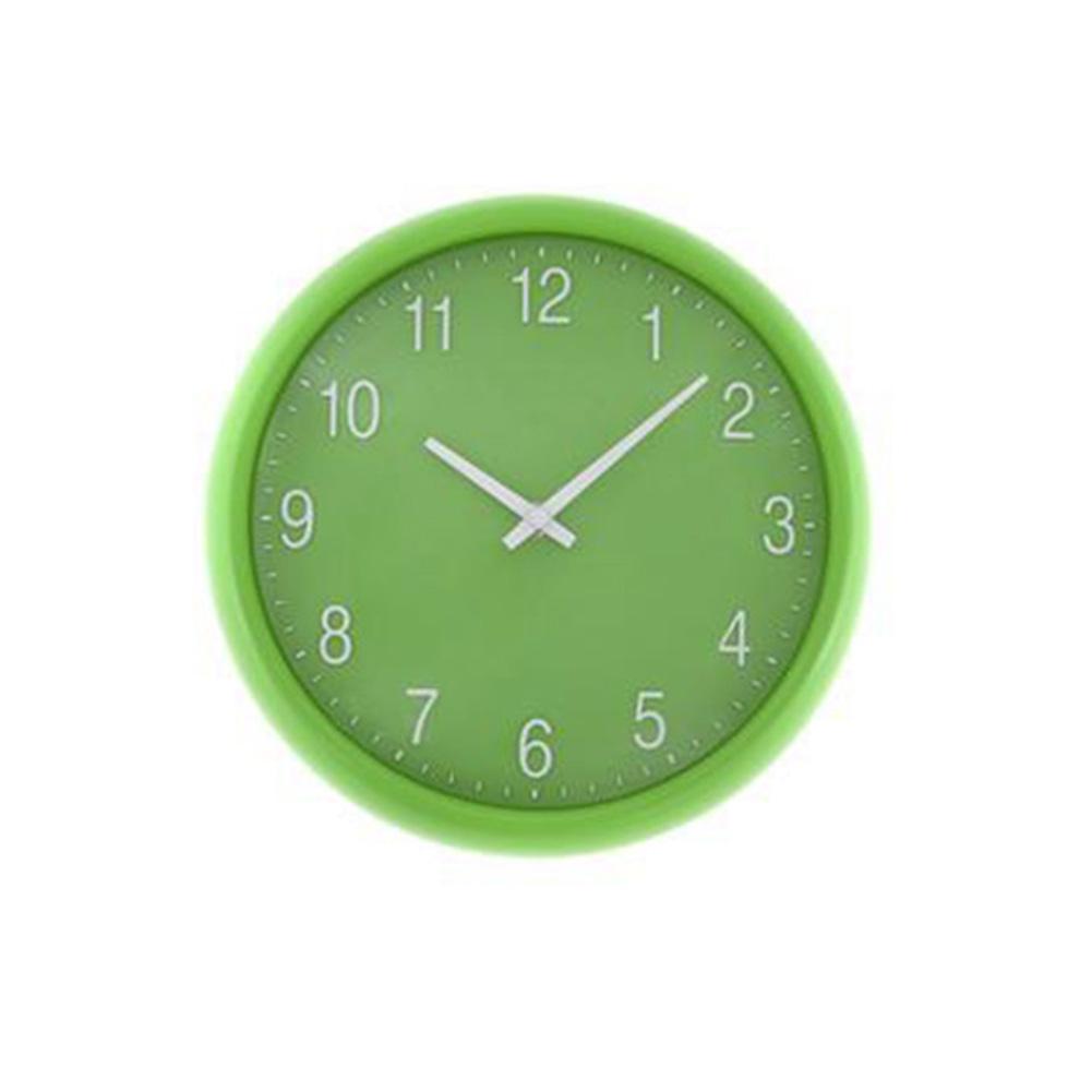Green quartz wall clock unique home living for Green wall clocks uk