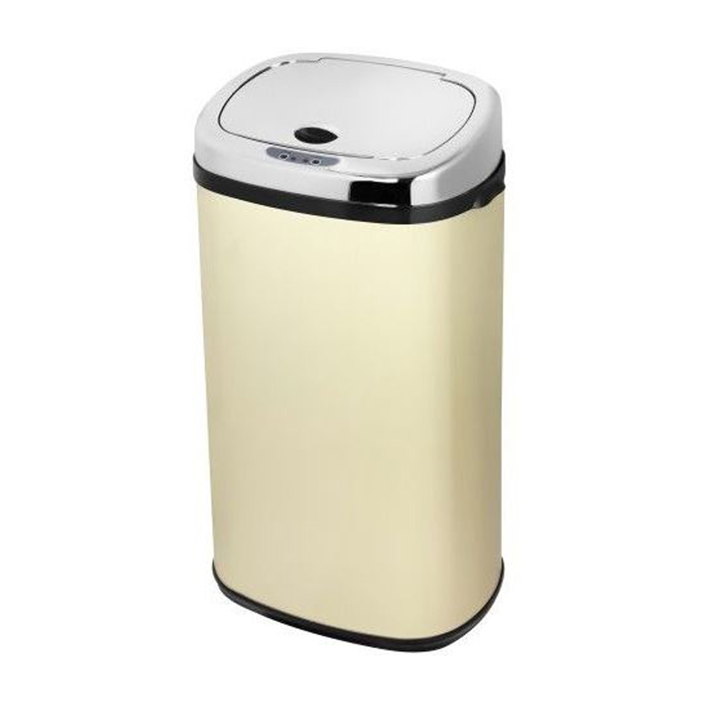 Kitchen Waste Bins: New Morphy Richards Chroma 971503 Square 42 Litre Sensor