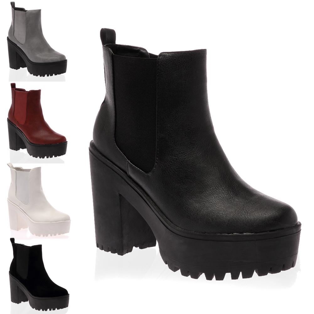 chelsea boots chunky heel is heel. Black Bedroom Furniture Sets. Home Design Ideas