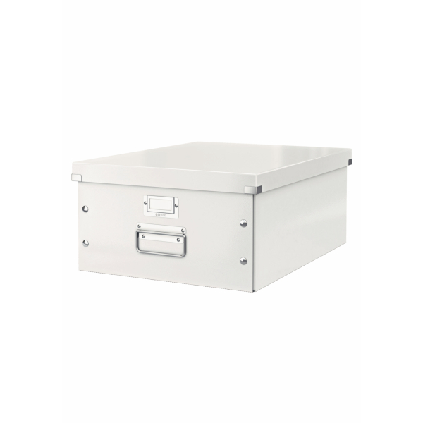 New White Brown Wooden A4 Paper Office Home Storage Box Kids Playroom Toy