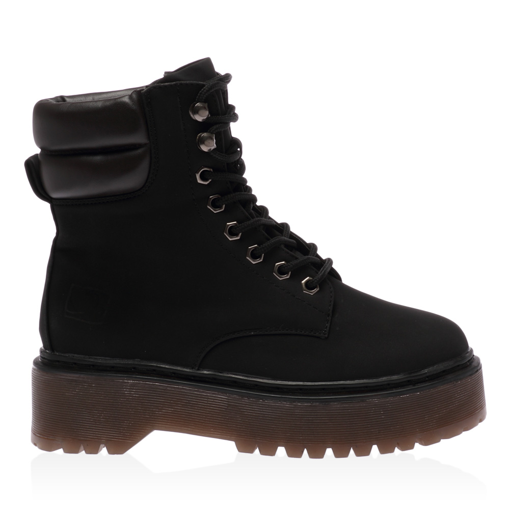 new lace up womens cleated sole ankle chunky combat