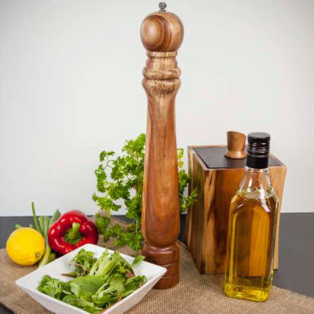 Large Wooden Pepper Mill