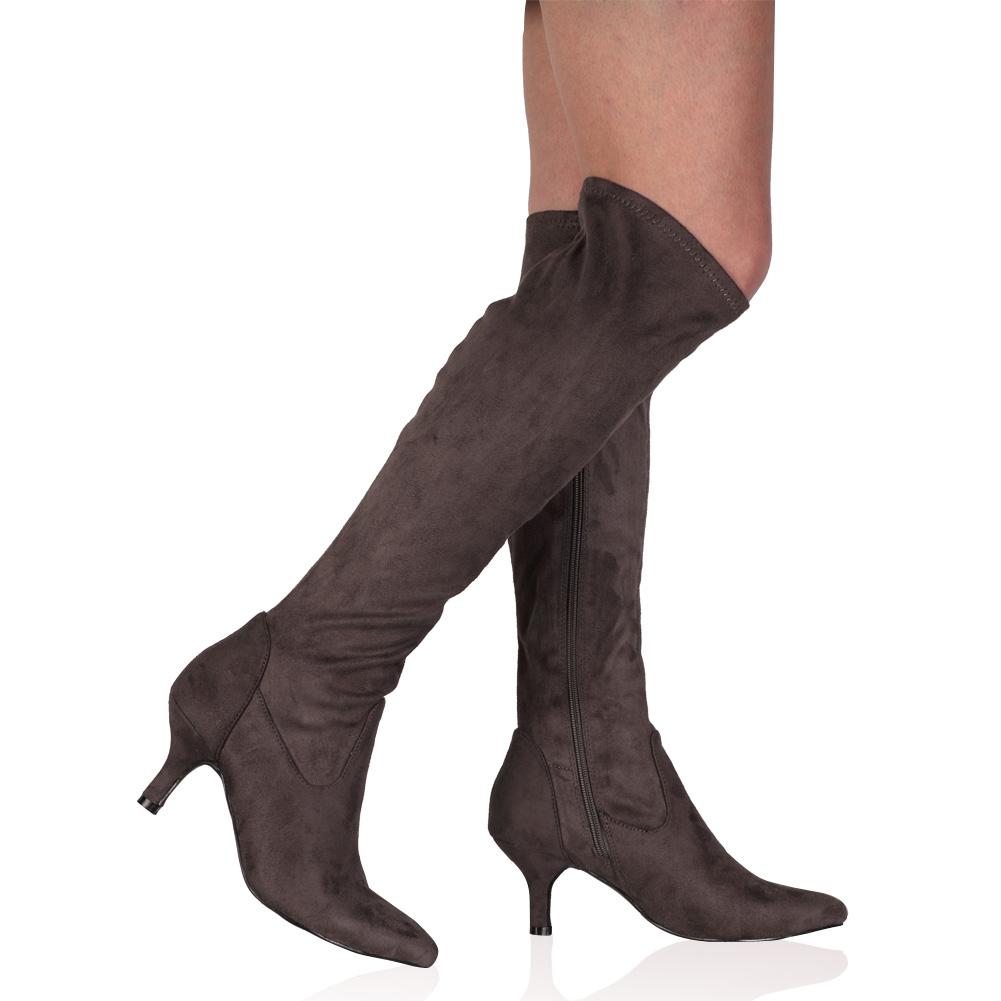 Lastest 26 Model Boots With Heels For Women | Sobatapk.com
